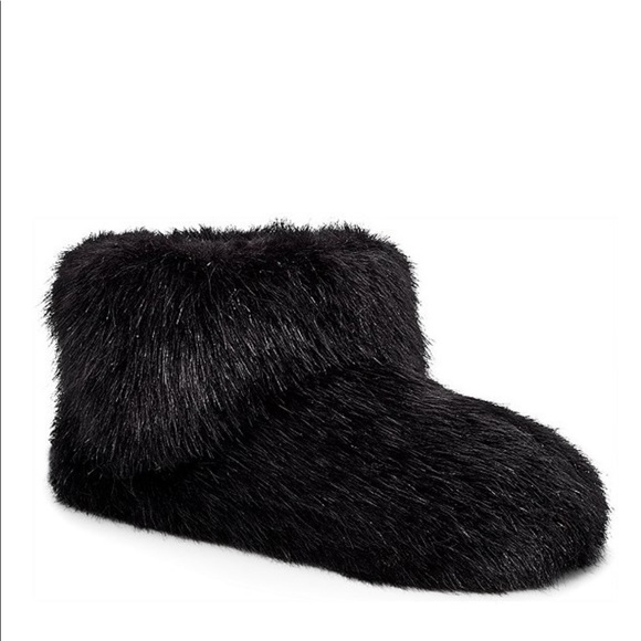 ugg faux fur slippers